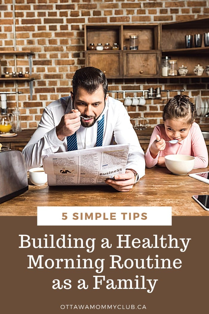 Building a Healthy Morning Routine as a Family