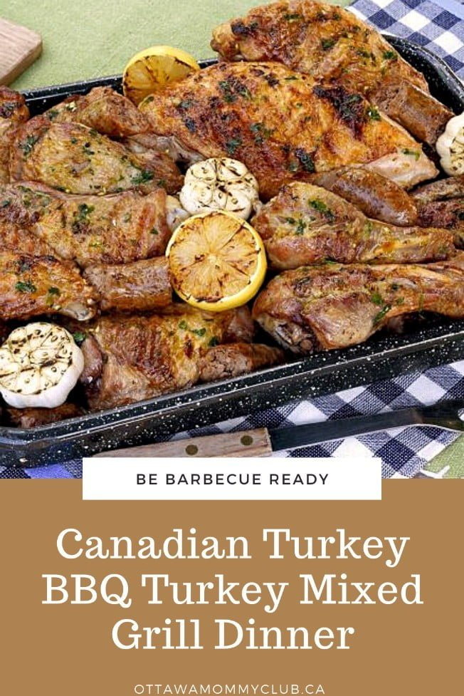 Canadian Turkey BBQ Turkey Mixed Grill Dinner