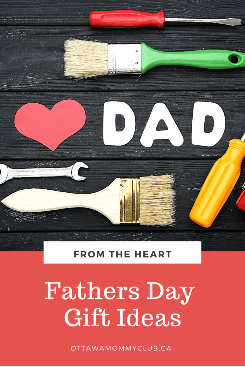 Father's Day gift ideas from the heart