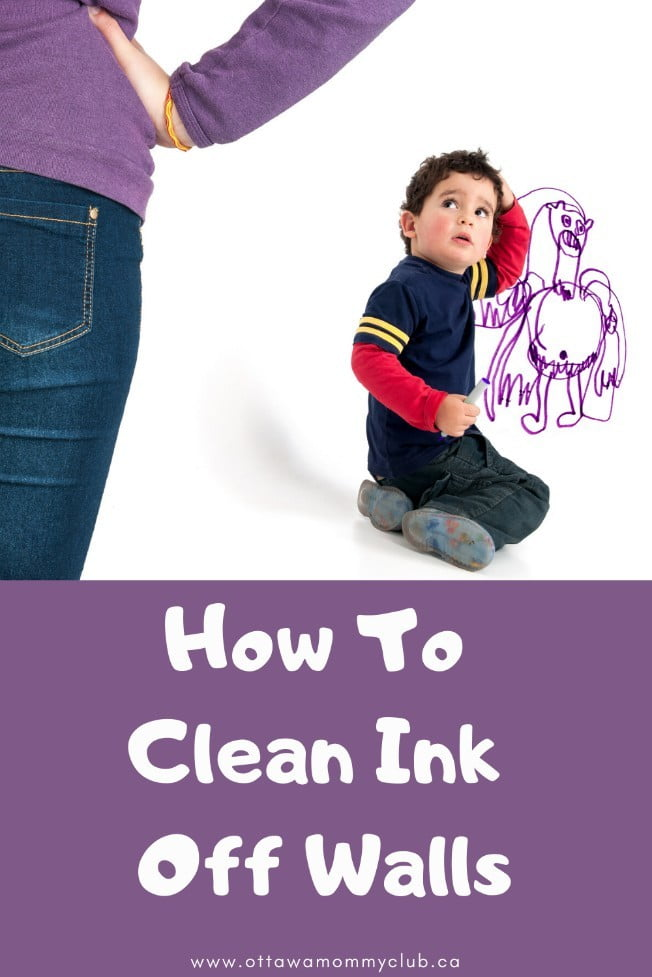 How To Clean Ink Off Walls