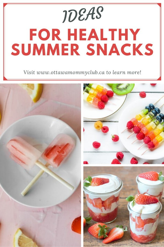 When you are out and about during the summer, you might want some delicious snacks. There are many snacks you can have, and many prefer to have some healthier options. The following are some ideas for healthy summer snacks.