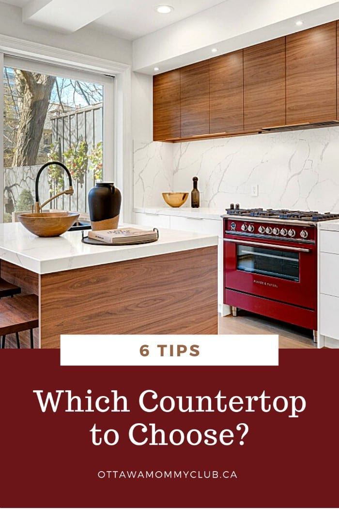 Tips On Which Countertop to Choose