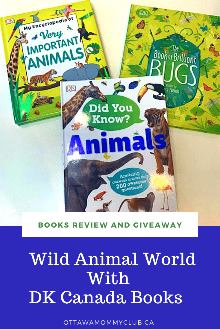 Wild Animal World With DK Canada Books
