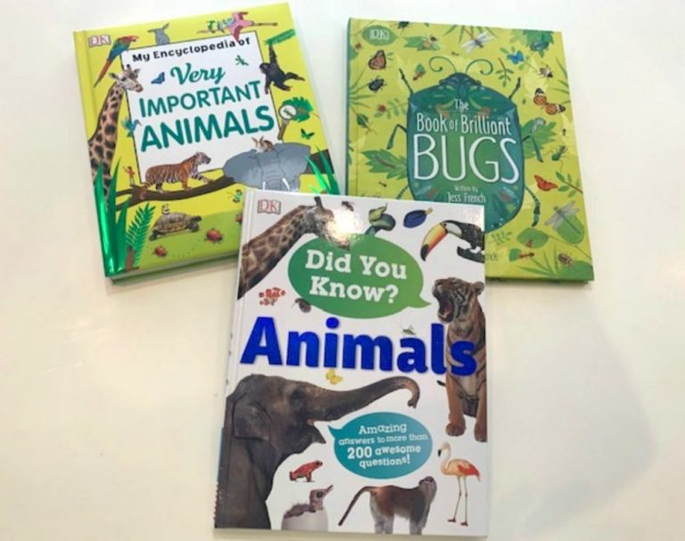 Wild Animal World With DK Canada Books Review
