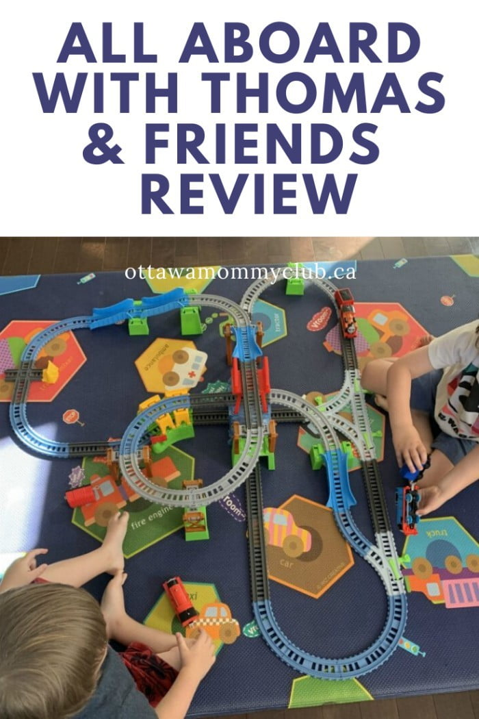 All Aboard With Thomas & Friends Toys - Review