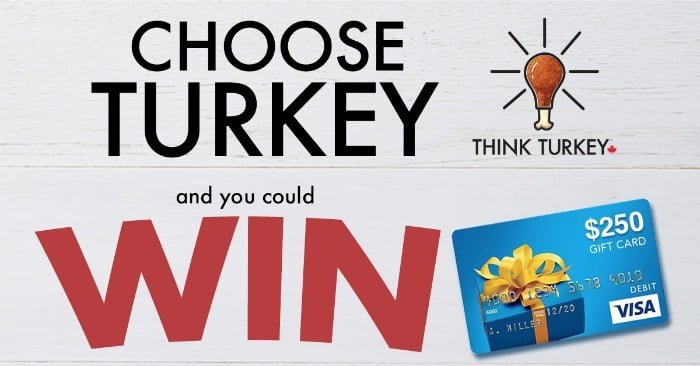 Choose Turkey and You Could Win A $250 Visa GC