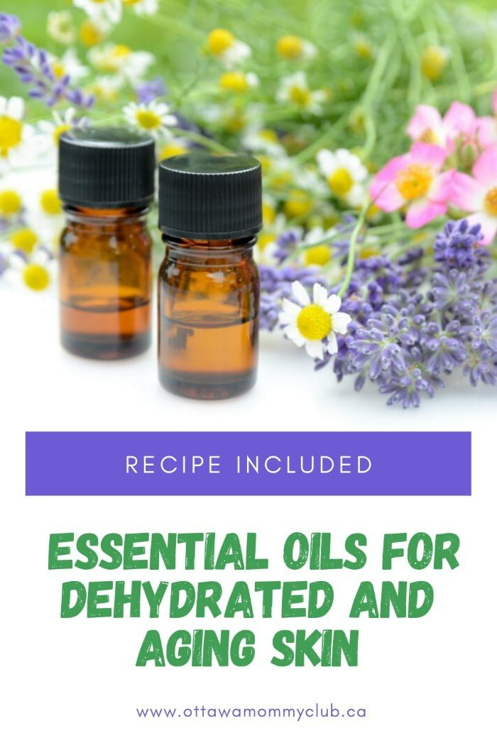 Essential Oils For Dehydrated And Aging Skin recipe