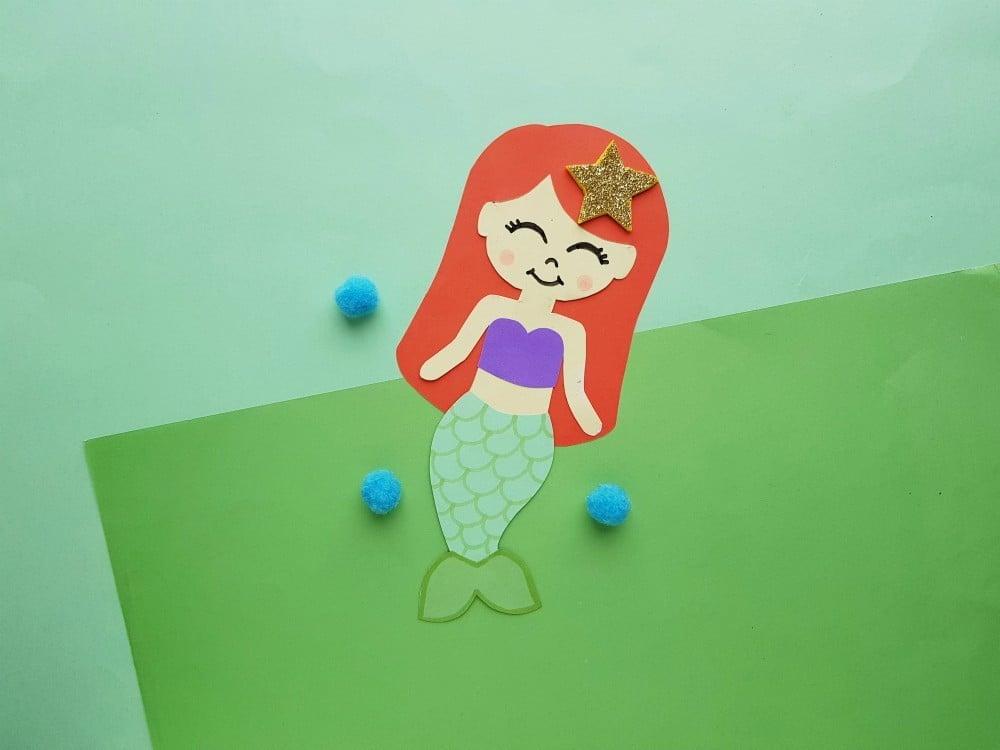 Princess Ariel Paper Doll Craft