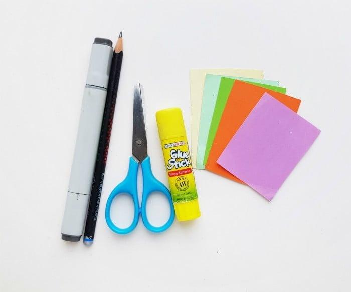 Princess Ariel Paper Doll supplies