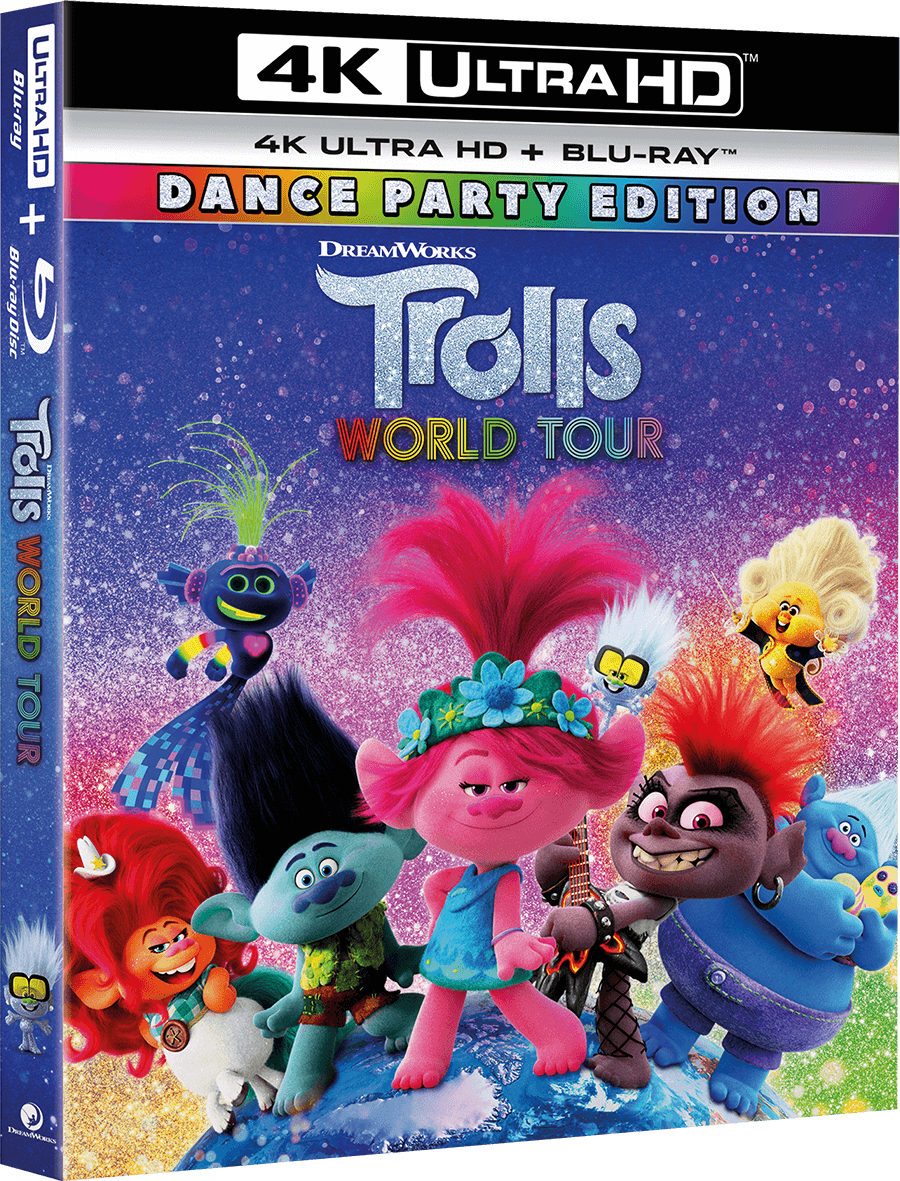 TROLLS WORLD TOUR Blu-ray Prize Pack Giveaway