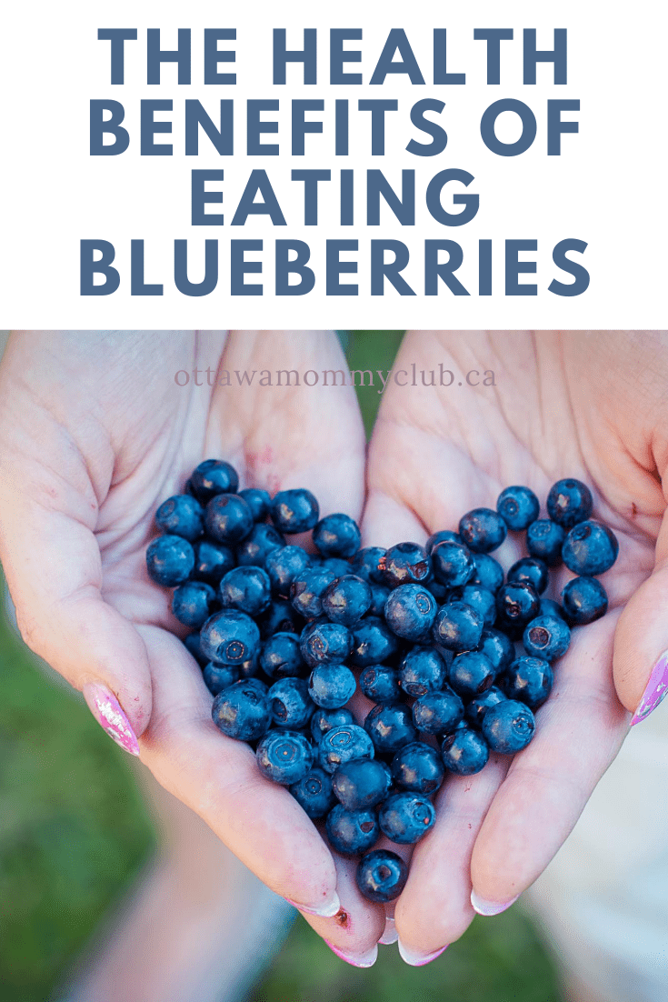 The Health Benefits Of Eating Blueberries