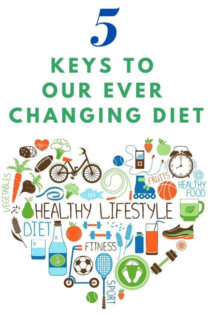5 Keys To Our Ever Changing Diet