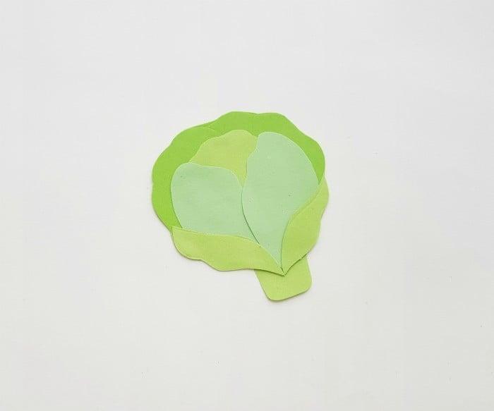 Vegetables Paper Crafts Step 5