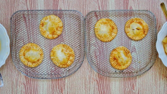 Air Fryer Apple Hand Pies in process 6
