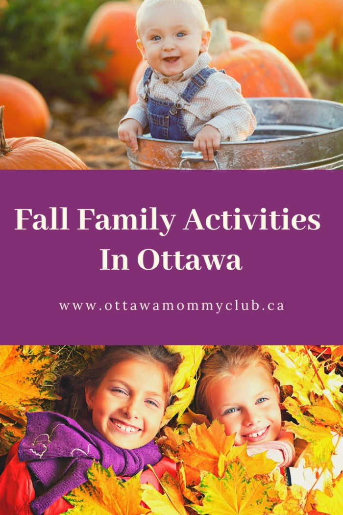 Fall family activities in Ottawa