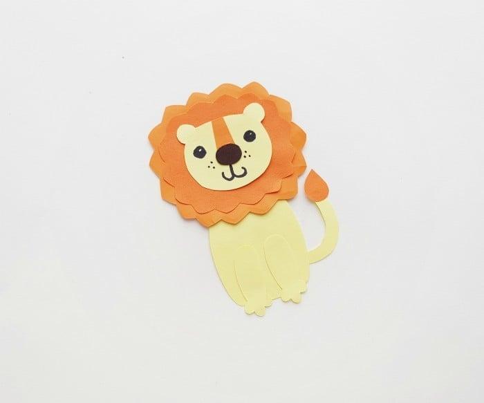 Lion Paper Craft