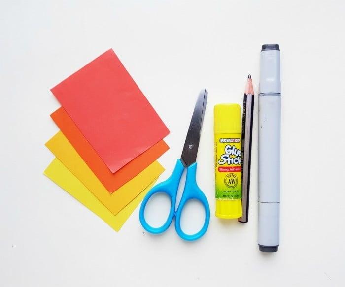 Lion Paper Craft supplies