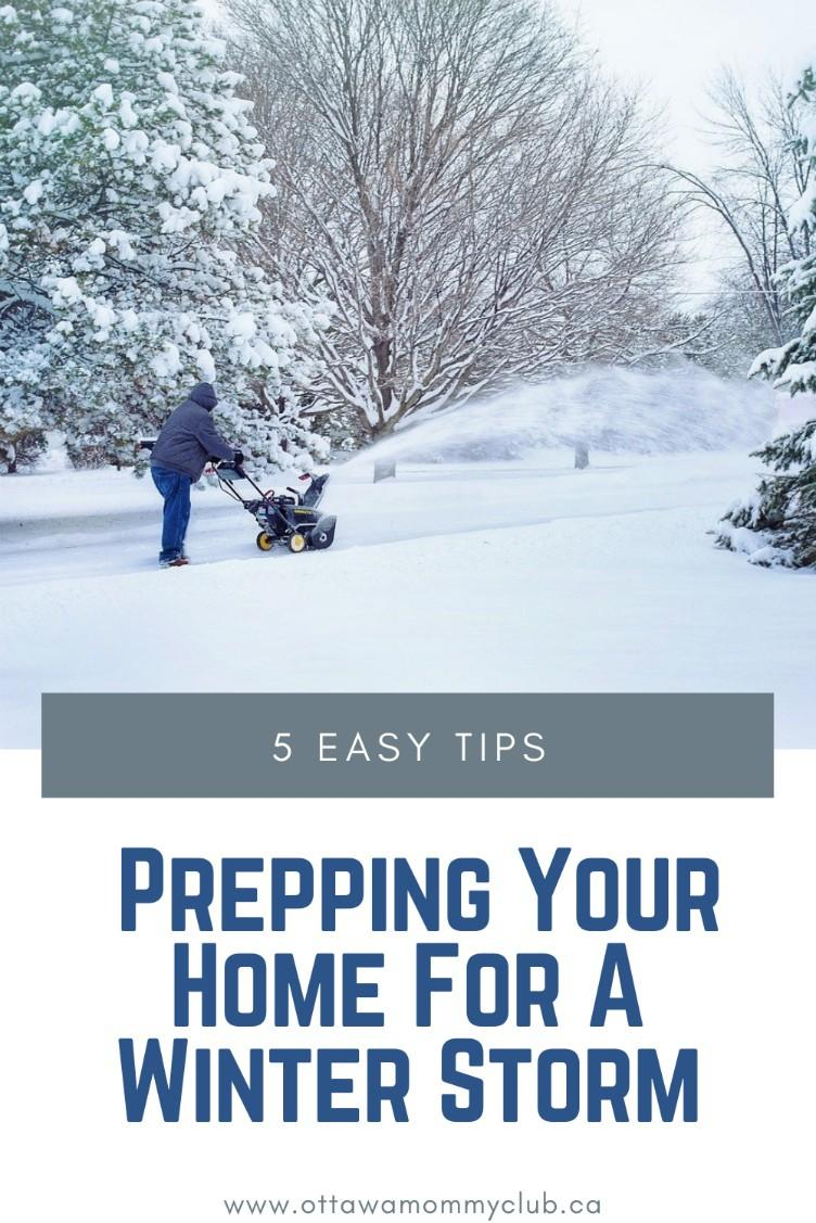 Prepping Your Home For A Winter Storm
