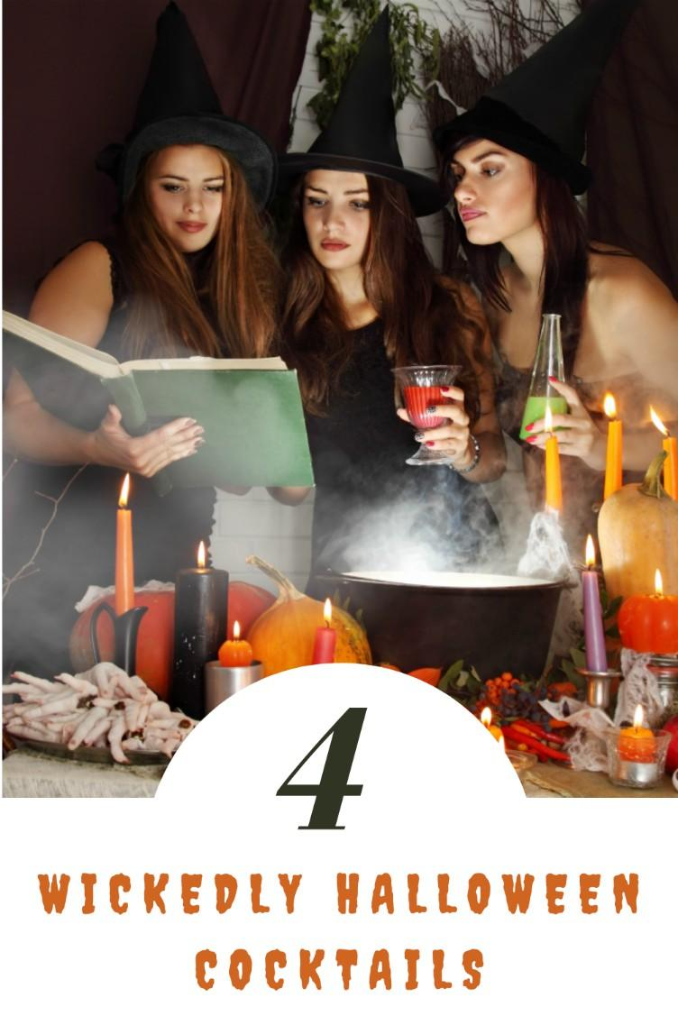 4 Wickedly Halloween Cocktail Recipes