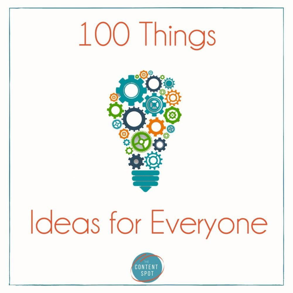 100 Things Blogger Link-up