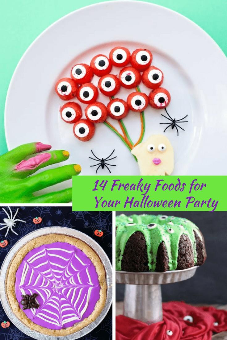 14 Freaky Foods For Halloween