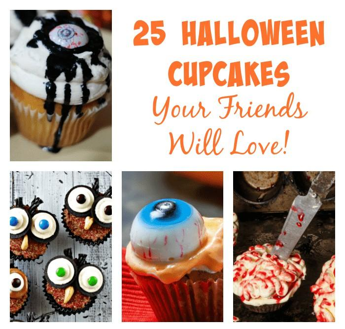 25 Halloween Cupcakes Your Friends Will Love!