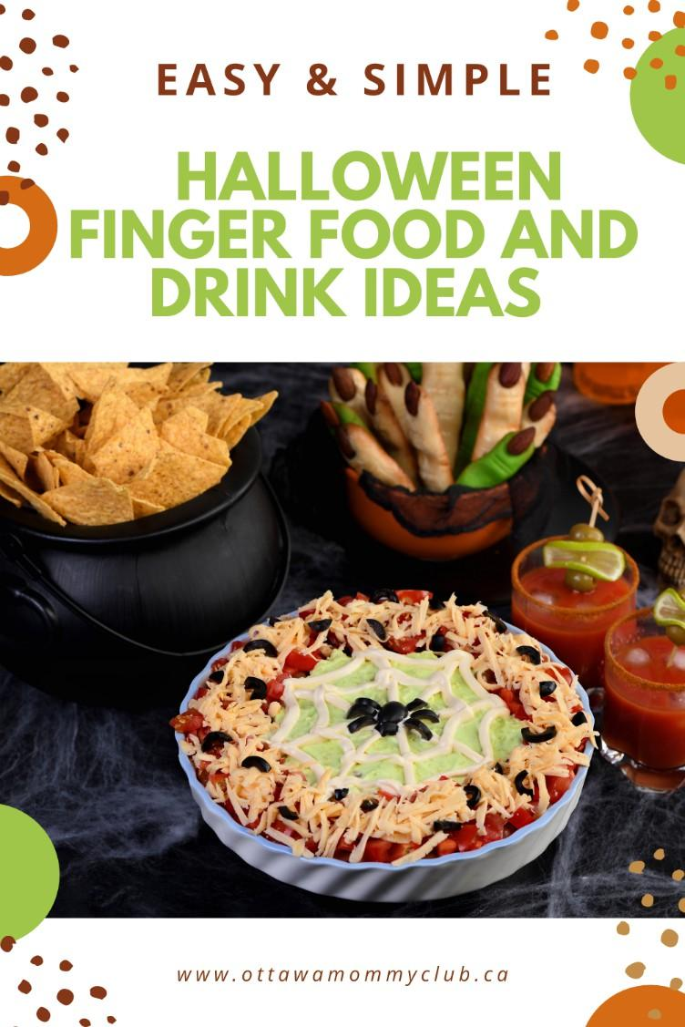 Easy Halloween Finger Food and Drink Ideas