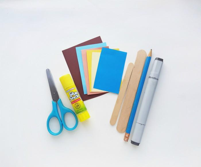 Goldilocks And The Three Bears Puppet Craft supplies