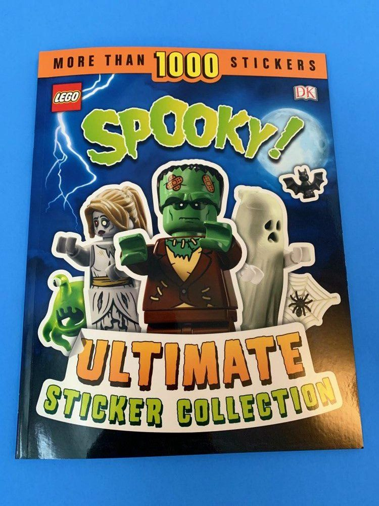 About LEGO Spooky! Ultimate Sticker Collection