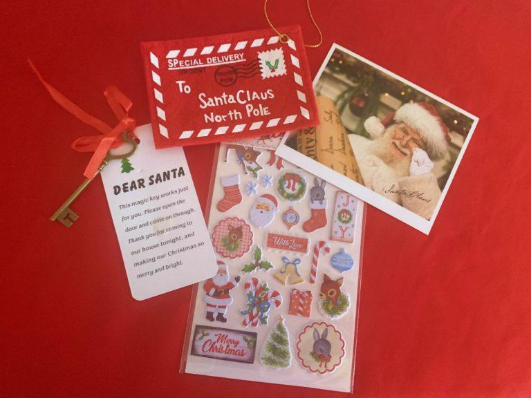 The Magic of Christmas with Santa Mails A Letter