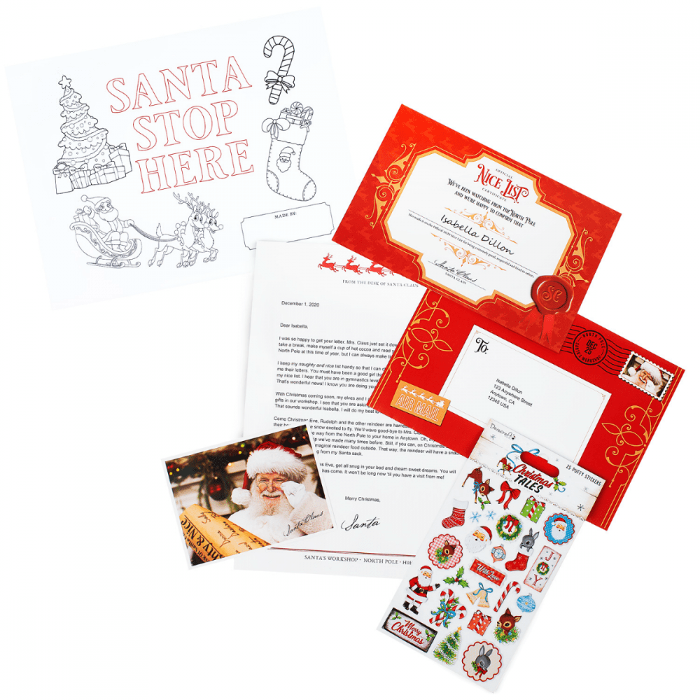 Santa Mails A letter - 'Tis the Season package