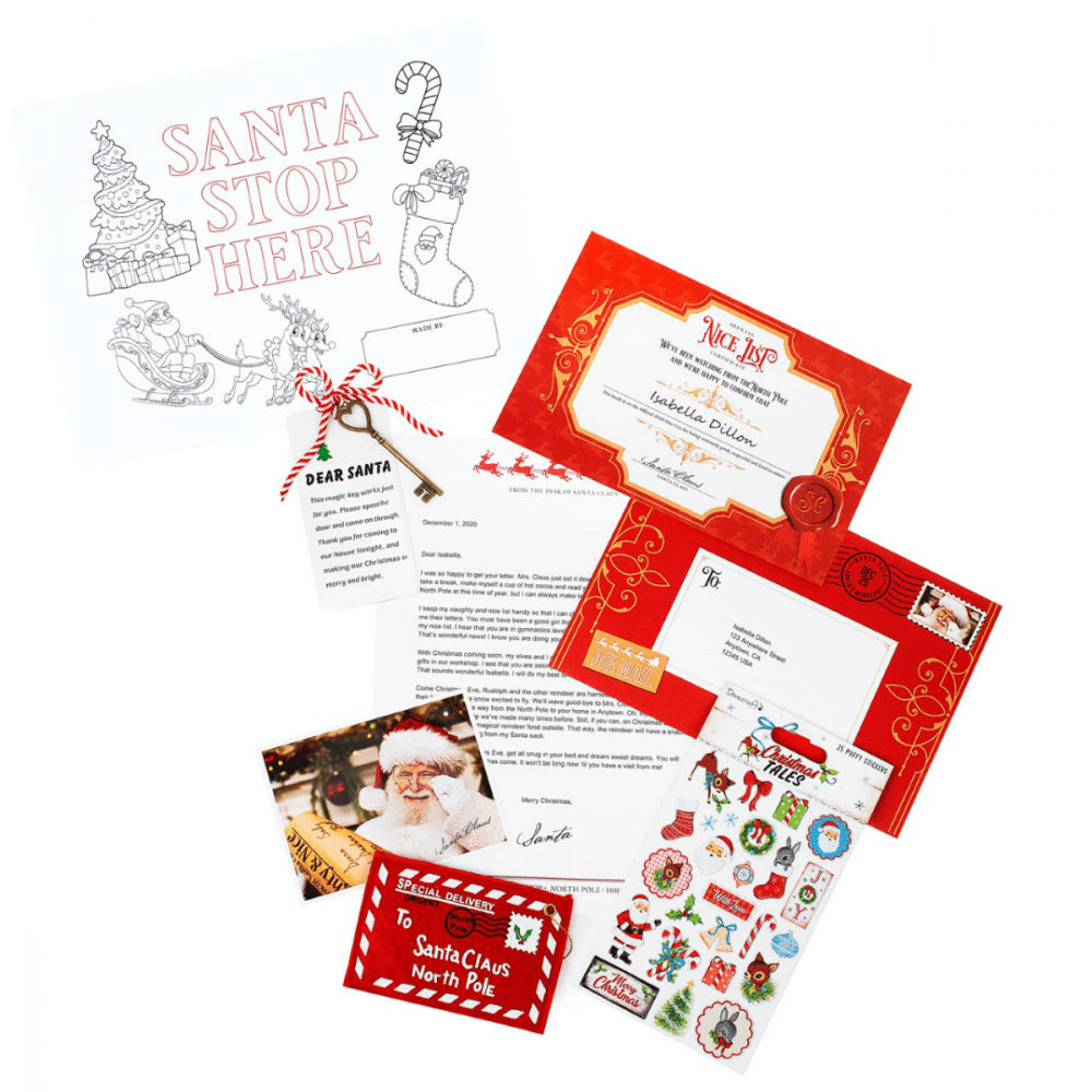Santa Mail A Letter - Joy To the World