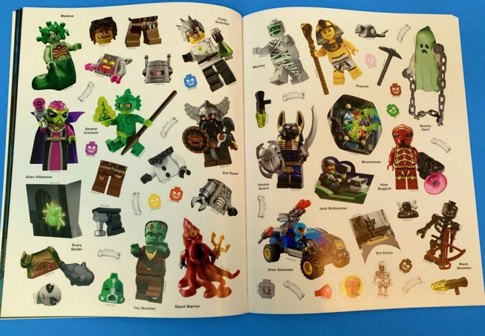 About LEGO Spooky! Ultimate Sticker Collection Book