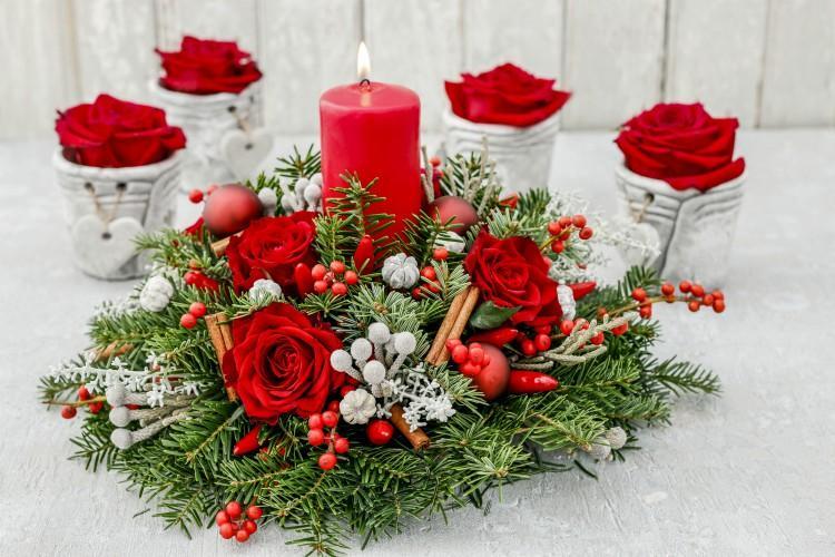 Christmas Flora Centrepiece