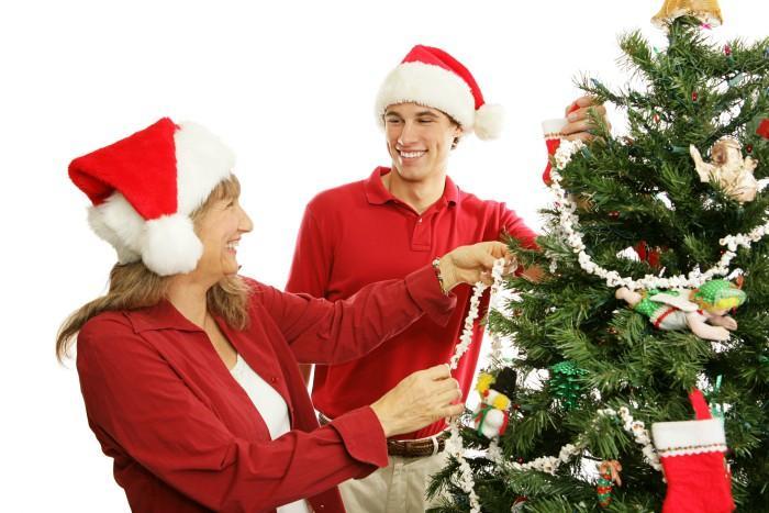 Country Rustic Christmas Tree Theme