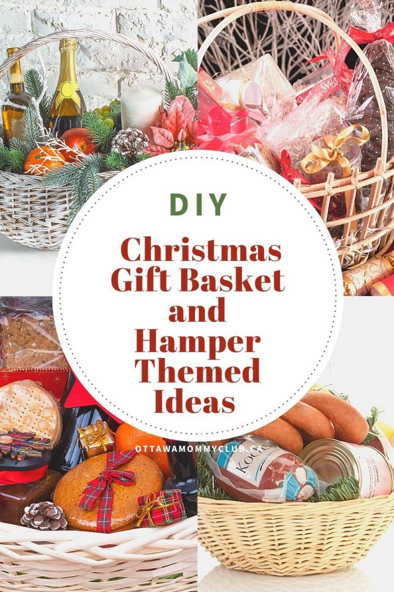 DIY Christmas Gift Basket and Hamper Themed Ideas
