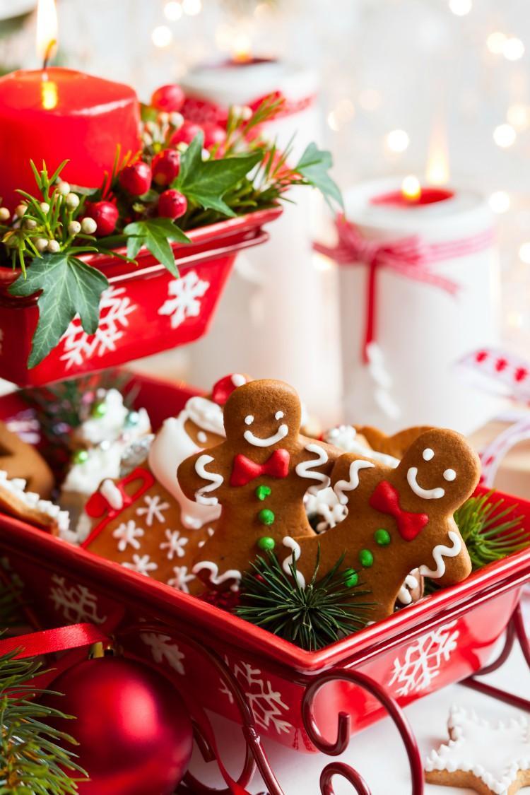 Edible Christmas Centrepiece