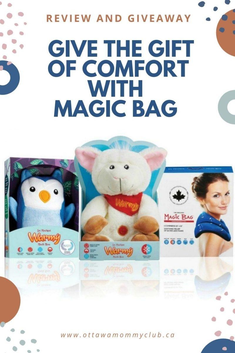 Give the Gift Of Comfort With Magic Bag