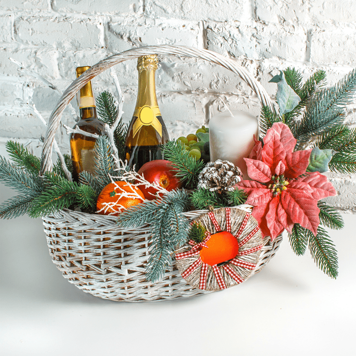 Christmas basket/hamper