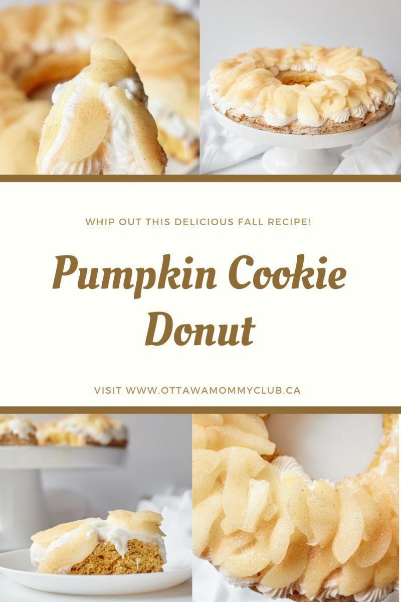 Pumpkin Cookie Donut Recipe