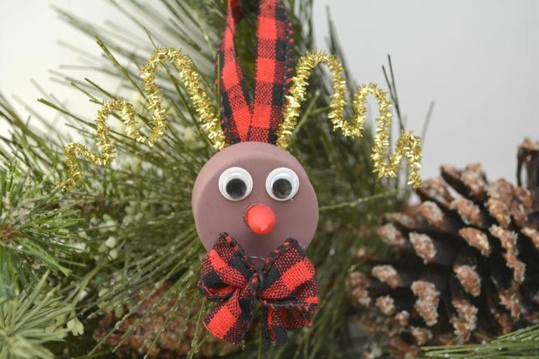 Rudolph tea light ornament