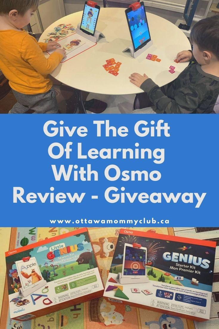 Give The Gift Of Learning With Osmo - Review And Giveaway