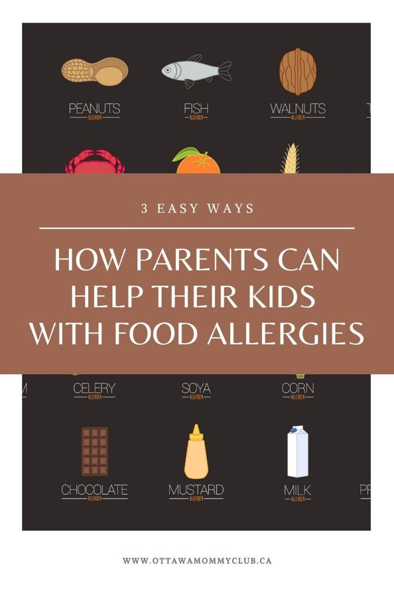 How Parents Can Help Their Kids With Food Allergies