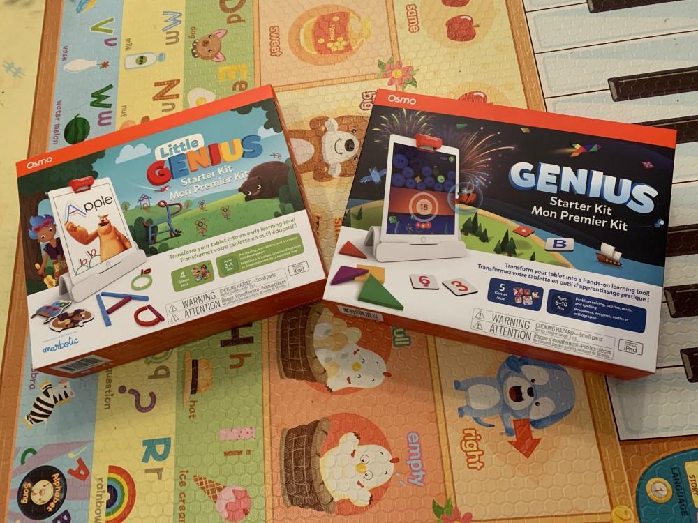 Osmo Genius Starter Kit and Little Genius Starter Kit