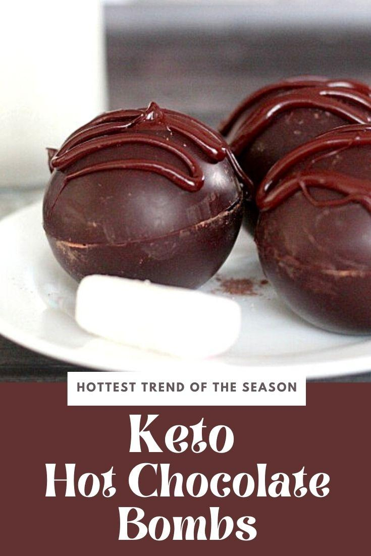 keto hot chocolate bombs
