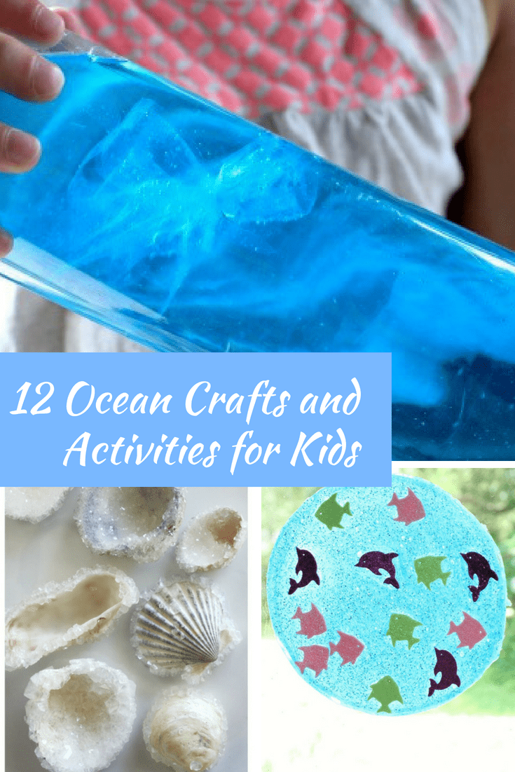 12 Ocean Crafts And Activities For Kids