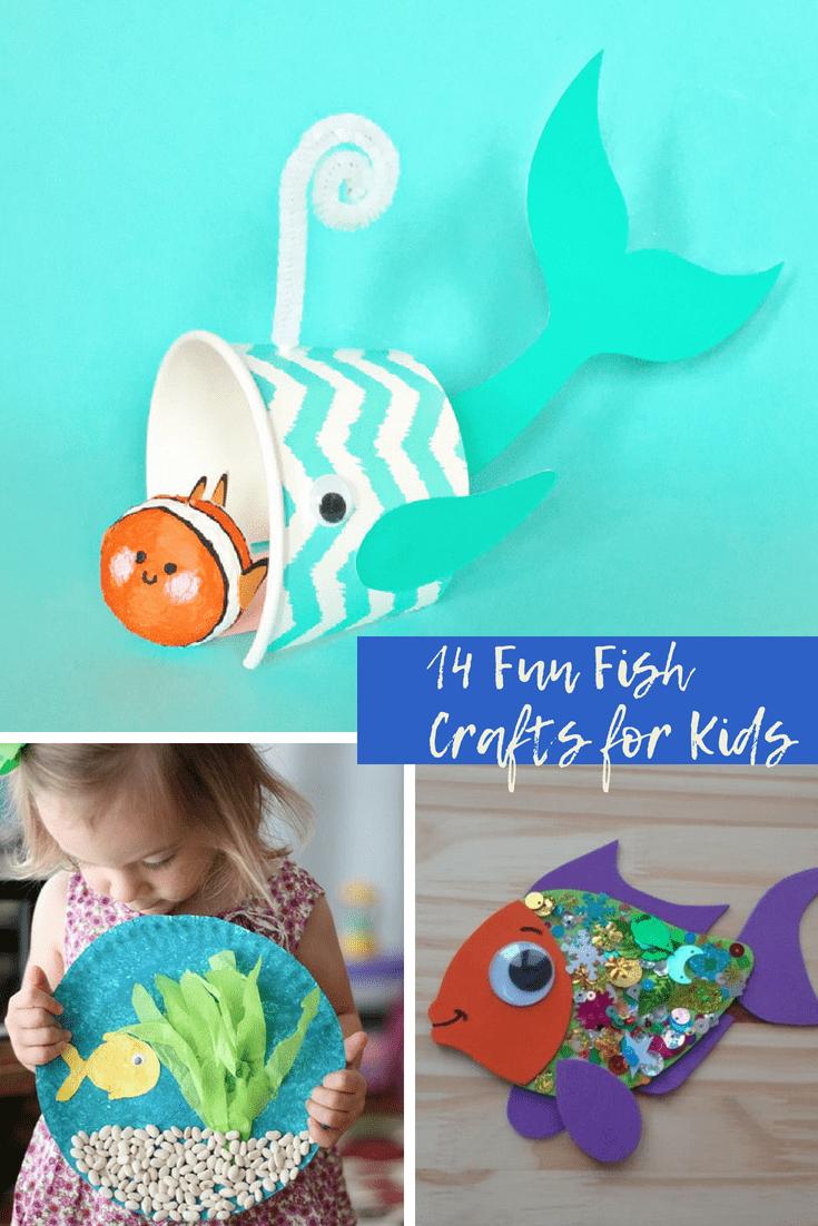 14 Fun Fish Crafts for Kids