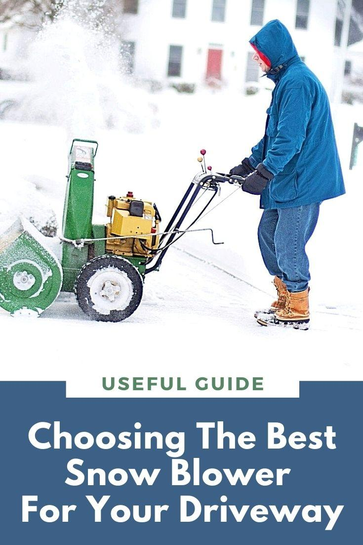 Choosing The Best Snow Blower For Your Driveway