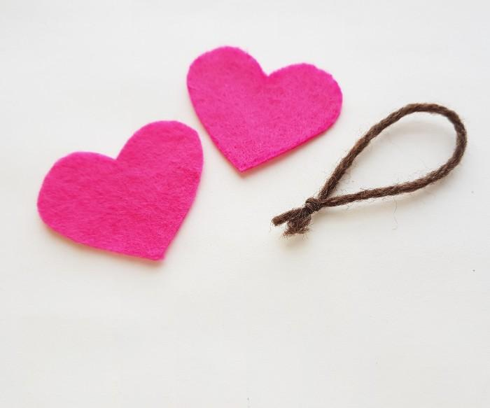 Easy Felt Heart Plush Craft For Kids step 2