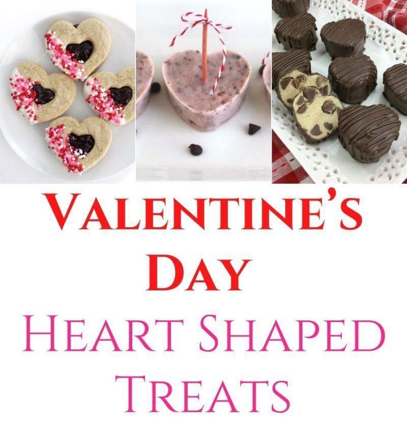 Valentine's Day Heart Shaped Treats
